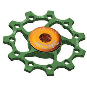 KCNC Jockey Wheel 11T Ceramic Bearing, green